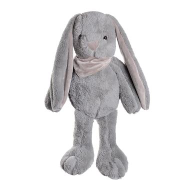 Кролик плюшевый серый