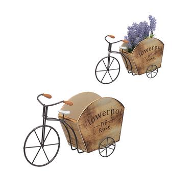 Велосипед-Кашпо Flowerpot Brown