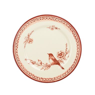 Тарелка закусочная Дивная птичка