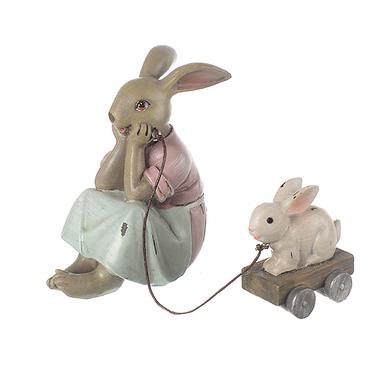 Фигурка декор Озорная крольчиха