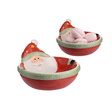 Керамическая Пиала Угощения Деда Мороза