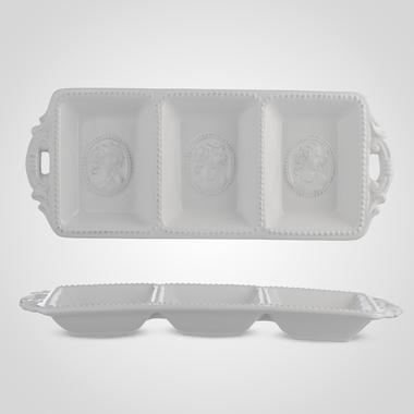 Тарелка Керамическая под снэки