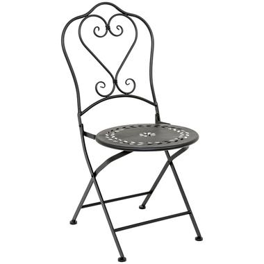 Складной стул «Жарден» (черный антик)