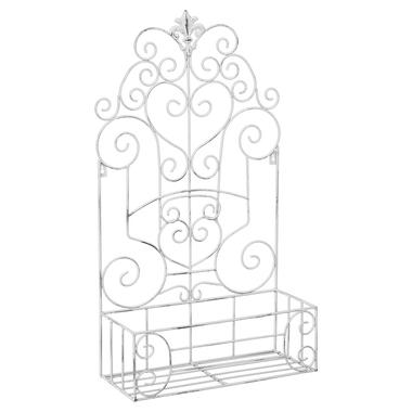 Полка-жардиньерка «Люксембургский сад» (лайт-аква антик, версия ХL)