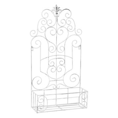 Полка-жардиньерка «Люксембургский сад» (лайт-аква антик, версия L)