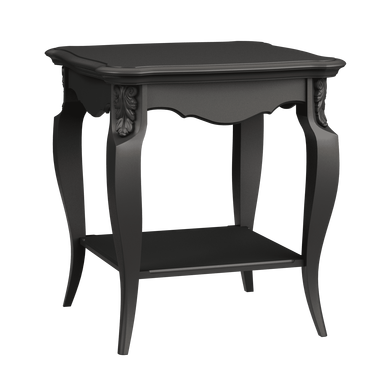 Стол квадратный Belverom Black (черный)
