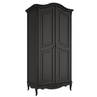 Шкаф 2 двери Belverom Black (черный)