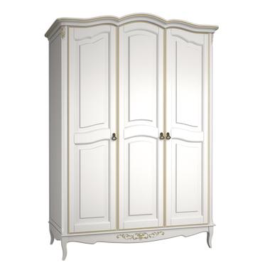 Шкаф 3 двери Belverom Gold (золотой)