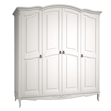 Шкаф 4 двери Belverom (белый)