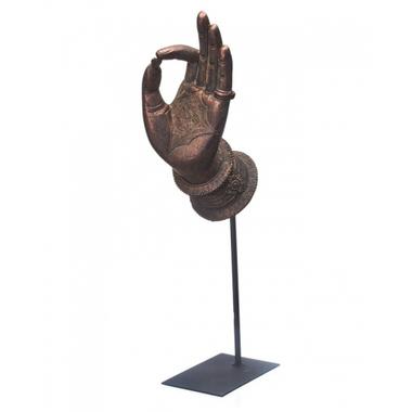 Статуэтка в виде руки 7,5х11,5х38,5 QJ99-0155