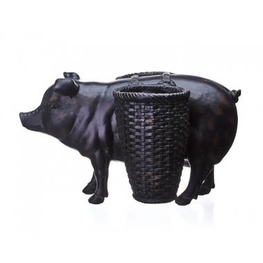 Статуэтка свинья 23х30х16,5 QJ99-0162