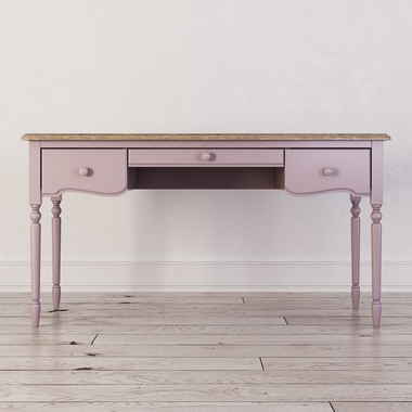 Письменный стол с 3-я ящиками Leblanc, лаванда