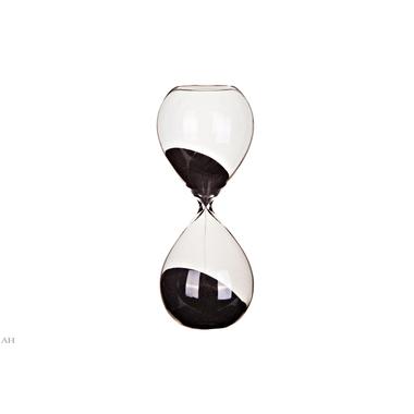 Часы песочные 30 минут 73221 BLACK