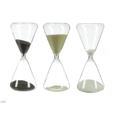 Набор песочных часов (3 шт) H17 см 3х10 мин=30 мин 75300