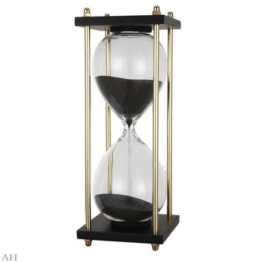 Часы песочные 30 минут JC75521-BLAC