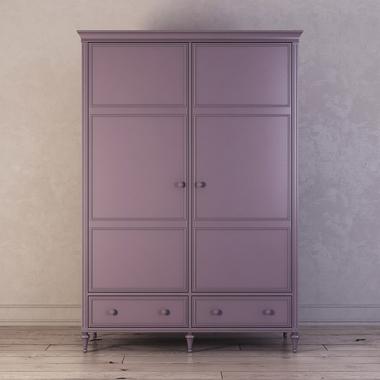 Шкаф двухстворчатый Riverdi, орхидея