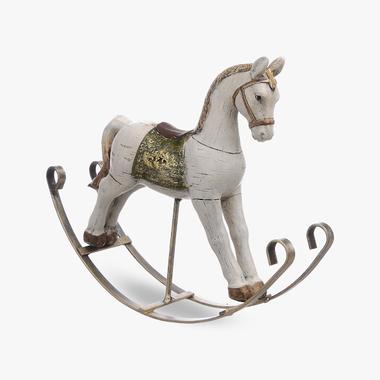 Лошадка-Качалка Декор (Полистоун)