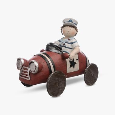Мальчик в Тельняшке на Машине (Полистоун)