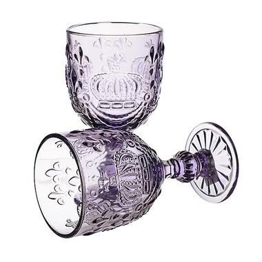 Бокал для вина фиолетовый Королевский 300 ml (набор 6шт)