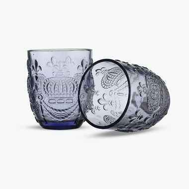 Стакан для Воды Яркий Фиолетовый Королевский 300 ml (набор 6шт)