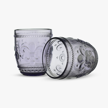 Стакан для Воды Дикая Фиолетовая Лилия 300 ml (набор 6шт)