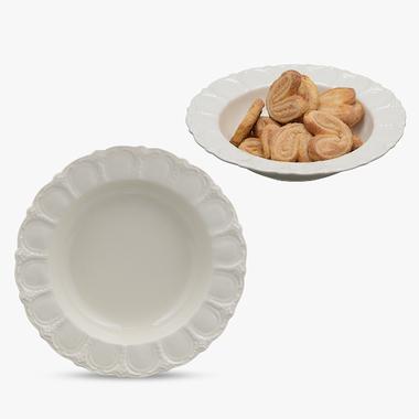 Тарелка Кремовая Суповая