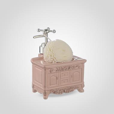 Диспенсер для Мыла/Жидкости для Мытья Посуды с Губкой