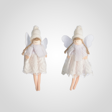 Подвески Девочки-Ангелочки Ручной Работы (12шт)