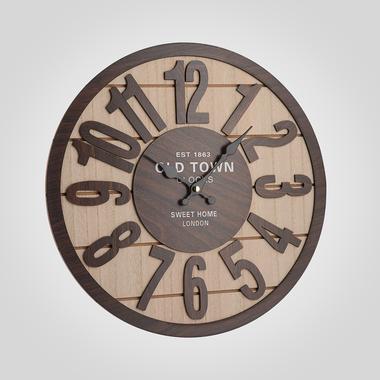 Часы Настенные Коричневые