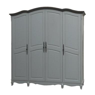 Шкаф 4-х дверный F6684(D71+M01)