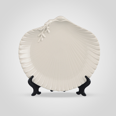 Тарелка Фарфоровая Белая