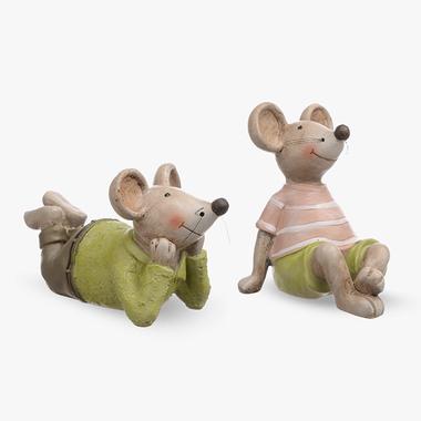 Мышки Мечтатели 2шт. (Полистоун)