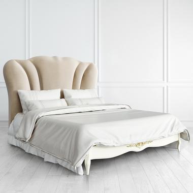Кровать с мягким изголовьем 160*200 Romantic Gold