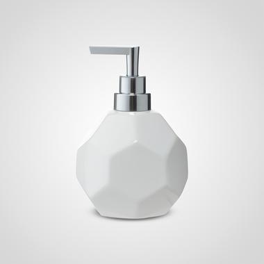 Керамический Дозатор для Крема/Мыла (Белый)