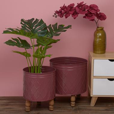 Набор Металлических Цветочных Подставок