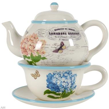 Чайный набор: чайник+чашка с блюдцем, 67182