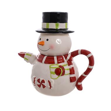 Керамический чайник Снеговик C1215211