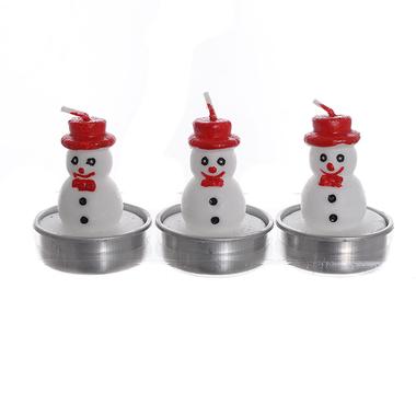 Набор свечей снеговики SD-003-Б