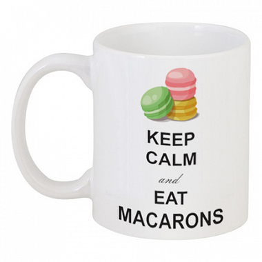 Кружка с рисунком Macarons DG-D-DW-L-6