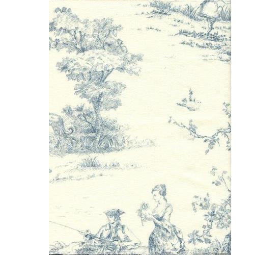 Французская лавка (ткань жуи) ST9342А