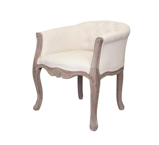 Низкое кресло Kandy beige