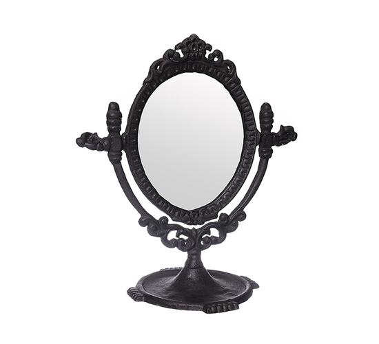 Зеркало Лилия в чугуне 25х28 A207143