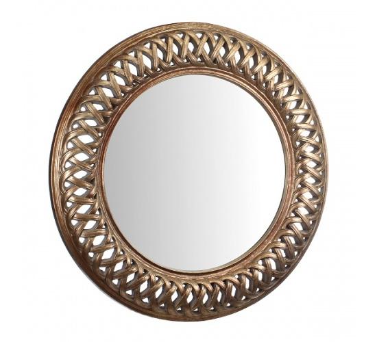 Зеркало с фаской в золотисто-медной раме AN08-0002
