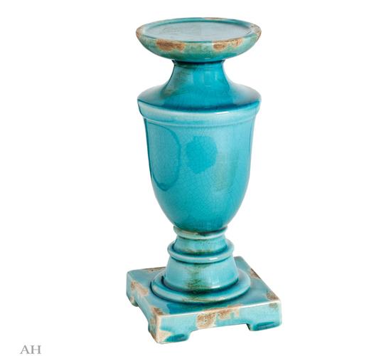 Подсвечник H25,5 см 66298-BLUE