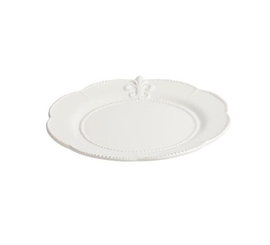 Большая тарелка Tess Cream