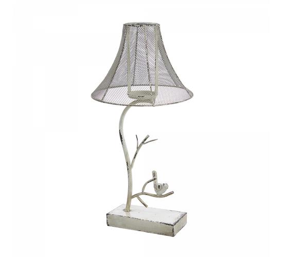 Подсвечник декор - лампа с птичкой QX561-1109