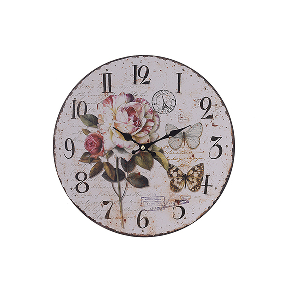 Часы с розой HLZ.7470