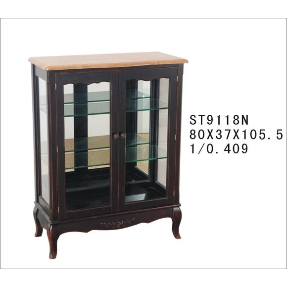 Стеклянная витрина (двойная) ST9118N