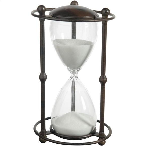Часы песочные 1 час 32082-WHIT
