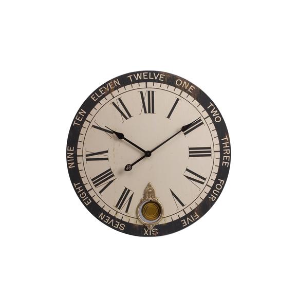 Настенные часы с маятником Charles Derriev
